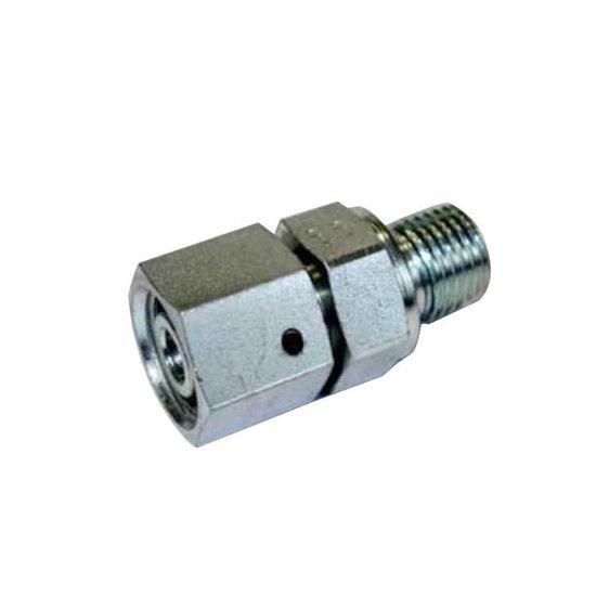 Afbeelding van M18x1.5-15L (M22X1,5) male inschroefkoppeling met wartel