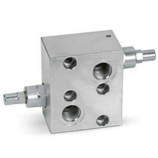 "Afbeelding van Dubbelwerkende balanceerklep flensbaar hydromotor VBCDF 1/2"" DE MP/MR"