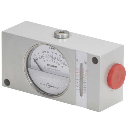 Afbeelding van Hydraulische flowmeter 4-120 l/min