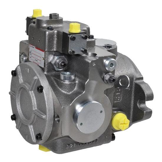 Afbeelding van Gesloten Plunjerpomp - Verstelling hydraulisch proportioneel met terugkoppeling 21L/min