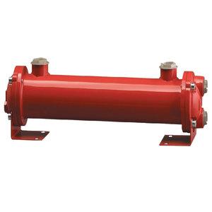 """Hydrauliek olie-zeewater koeler 1"""", 16 kW en 80 L/min"""
